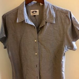 Roper woman short sleeve shirt size XL